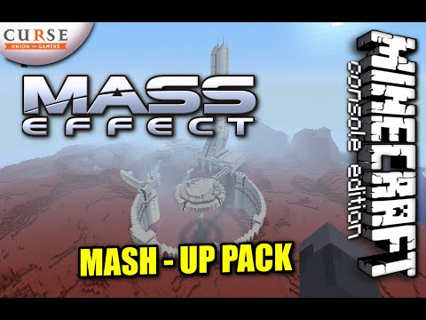 Minecraft PS4 - MASS EFFECT MASH-UP PACK REVIEW ( PS3 / XBOX )