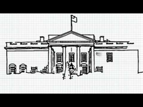 White House Drawing How to Draw White House