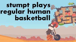 Stumpt Plays - Regular Human Basketball - 4 Player Gameplay