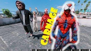 GTA 5 - Quái vật nhện Carnage hướng thiện - Chuyện gì đã xảy ra | GHTG