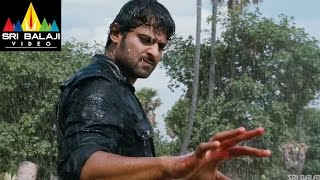 Mirchi Movie Prabhas Powerful Rain Fight Scene | Prabhas, Anushka, Richa | Sri Balaji Video