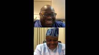 Dele Momodu - Instagram live with Speaker, Lagos State House of Assembly, RT. HON. MUDASHIRU OBASA
