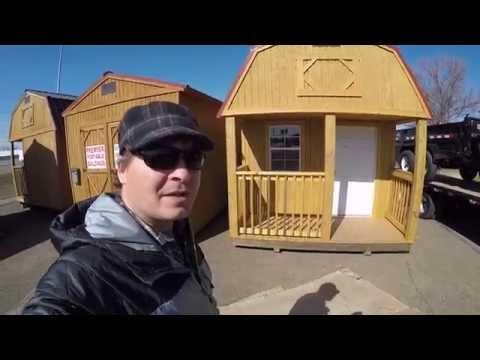 Tiny House Idea :  Cheap Portable shed