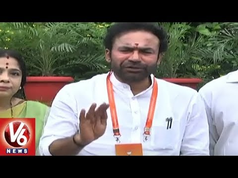 BJP To Contest All 119 Seats In Telangana Says Laxman | Delhi | V6 News