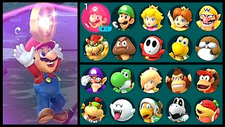 Super Mario Party Lose Coin All Characters