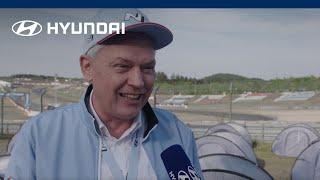 Hyundai @ 24h Rennen - Interview Albert Biermann   Die Zukunft des N
