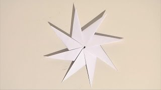 Noel deco !! Christmas decoration !! étoile origami diy