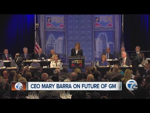 CEO Mary Barra on future of GM