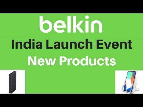 Belkin Launch Event India - Belkin New Product Launch