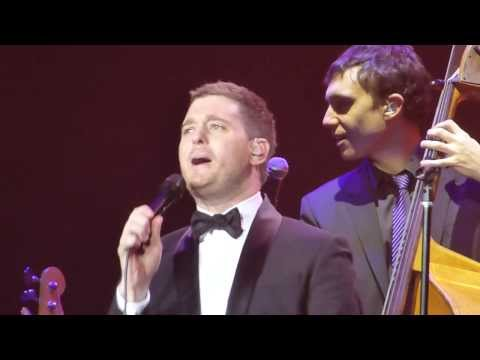 Michael Buble - You Make Me Feel So Young - Manchester - 1st March 2014