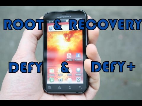 Instalar Root + Recovery Motorola Defy / Defy + (MB525 / MB526)