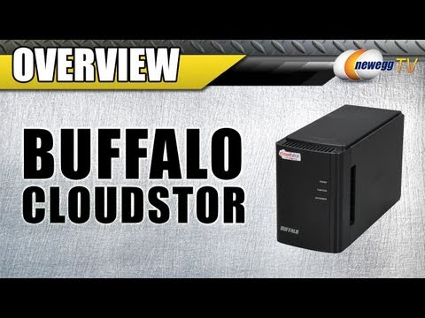 Newegg TV: BUFFALO CloudStor Dual-Bay Storage and Media Sharing Device Overview