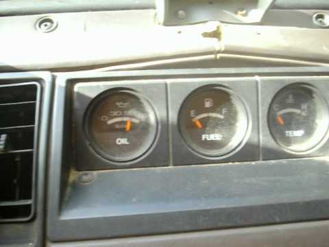 1986 Isuzu Trooper II - Turbo Diesel - 3rd Gen Rods - Cranking