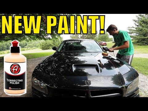 HOW TO DO PAINT CORRECTION:  BEST WAY TO RESTORE YOUR CAR'S PAINT!