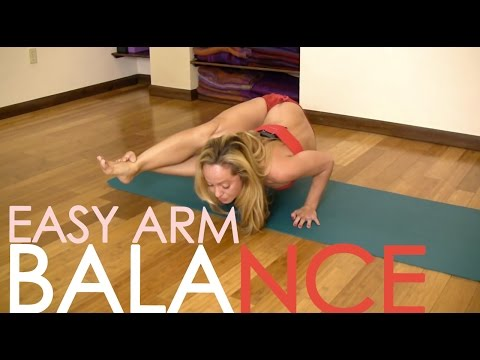 Yoga for Upper Body, Easy Arm Balance Astavakrasana with Kino MacGregor