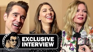Colin Farrell, Sofia Coppola, and Kirsten Dunst Interview - THE BEGUILED (CinemaCon 2017) Movie