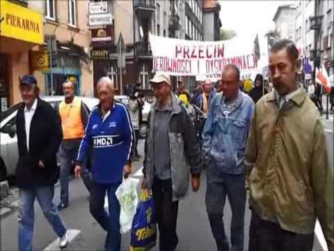 Marsz Bezdomnych W Katowicach [WIDEO: A.Ławrywianiec]