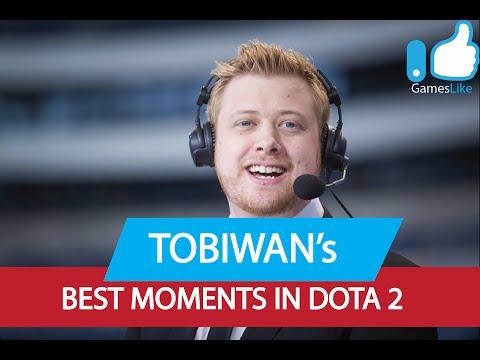 Dota 2 TobiWan's BEST Moments!
