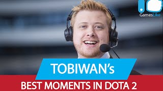 Dota 2 TobiWan's BEST Moments!