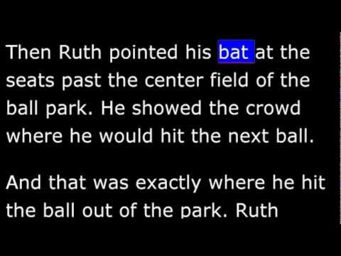 Biography - RB - Babe Ruth - Worlds Greatest Baseball Player -