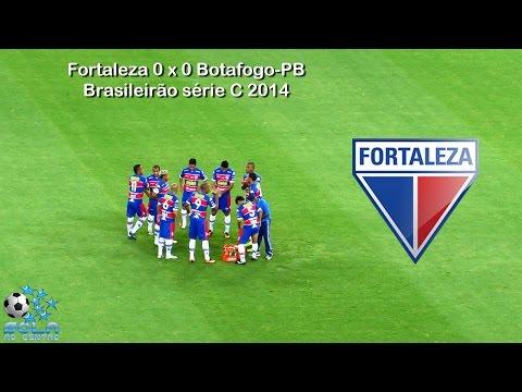 Fortaleza 0 x 0 Botafogo-PB - Brasileirão série C 2014