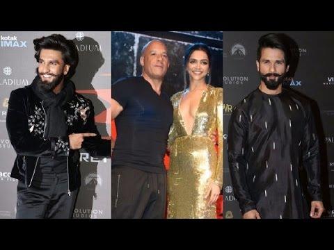 xXx Return Of Xander Cage India Premiere - Red Carpet | Vin Diesel | Deepika Padukone