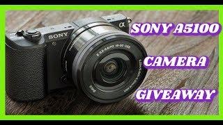 Sony A5100 Camera Giveaway (International)   Evette Santos
