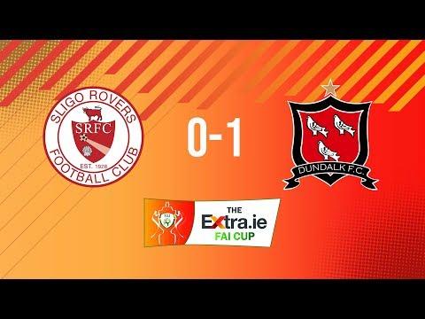 Extra.ie FAI Cup Semi Final: Sligo Rovers 0-1 Dundalk