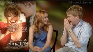 Domhall Gleeson shocked at Rachel McAdams admission, in hilarious interview.