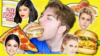 TASTING CELEBRITIES FAVORITE FOODS
