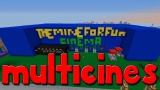 "Minecraft MegaBuild - "" Cines TheMineForFun """