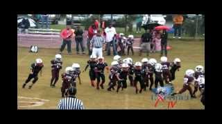 Pop Warner Youth Football: Wilders Grove Wolfpack vs Durham Eagles Scrappin Tiny Mites 2012