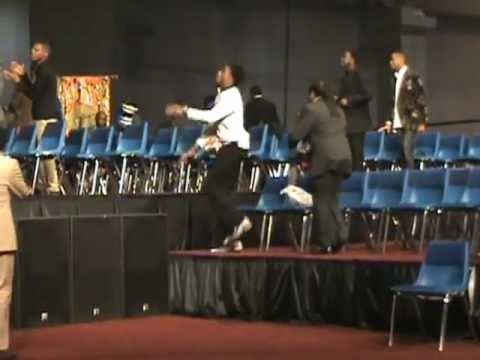 Serious Praise Break....James Hall at the 105th Holy Convocation
