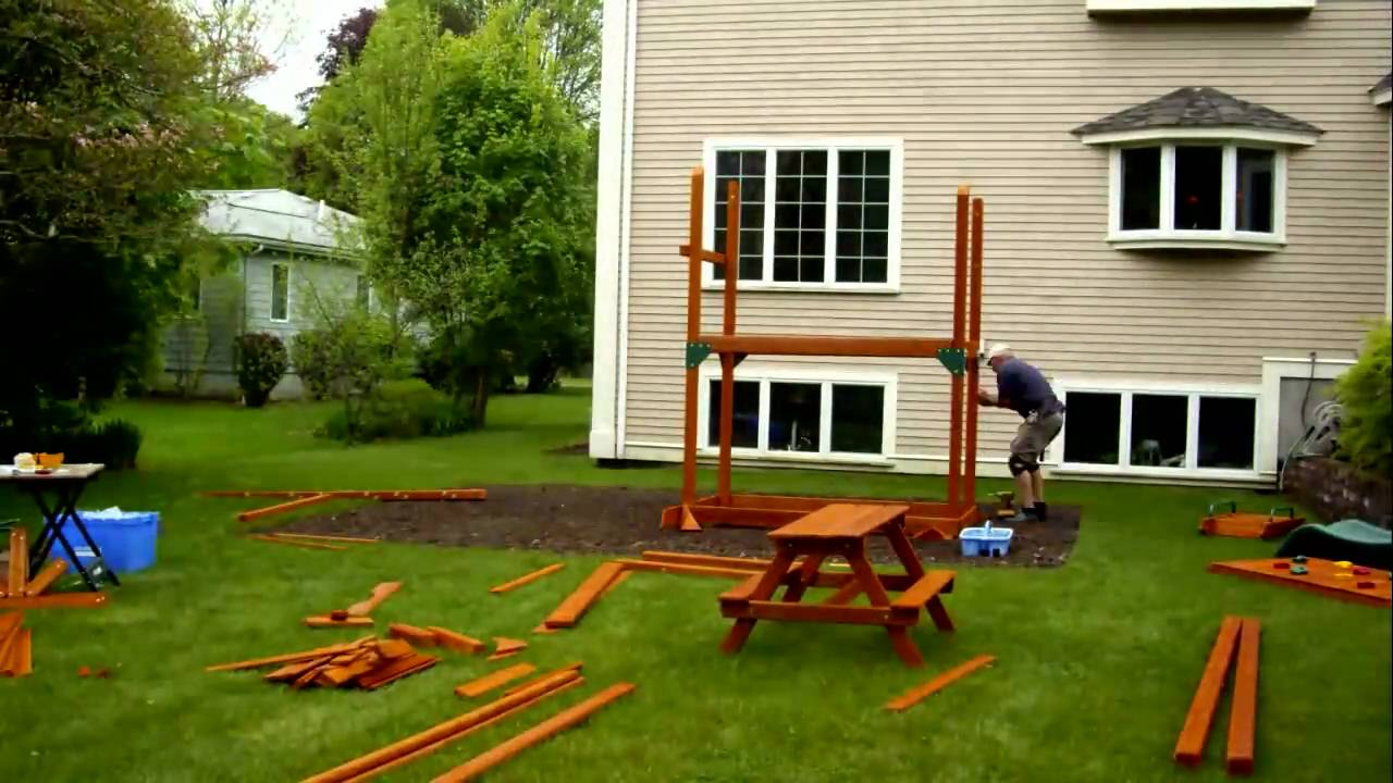 Rocky Mountain Retreat installation swing set installer - YouTube