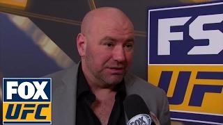 Dana White thought Stephen Thompson beat Tyron Woodley at UFC 209 | UFC ON FOX
