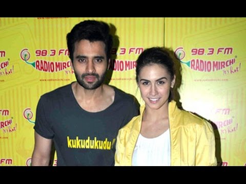 Jackky Bhagnani & Lauren Gottlieb Promote 'Welcome To Karachi' at Radio Mirchi