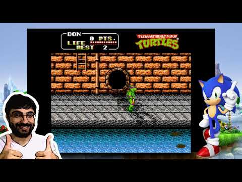 Desafio #3 - Teenage Mutant Ninja Turtles (NES)