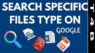 how to search Specific File Like PDF DOC EXCEL PPT MP3 On Google Search Tips n Tricks