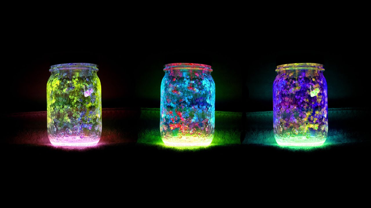 Diy Fairy Glow Jars Youtube
