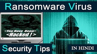 Ransomware Virus Attack | How to Protect Yourself from Hackers | Security Tips[Hindi]