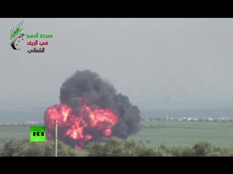 Повстанцы в Сирии сбили вертолет Ми-17