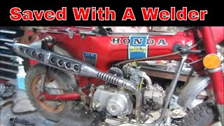 The, worn out Honda Trail 70, Engine Repair/Restore, pt4.