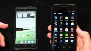 HTC EVO 4G LTE vs. Samsung Galaxy Nexus Part 1