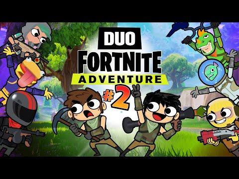 DUO FORTNITE ADVENTURE #2 (Animation)
