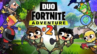 DUO FORTNITE ADVENTURE #2 (Animation)