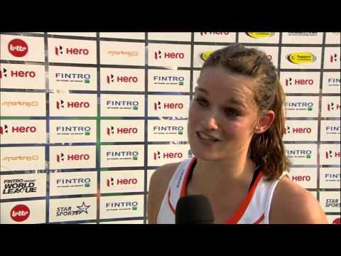 Post Match Interview Lidewij Welten