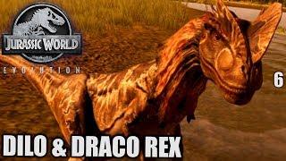Jurassic World Evolution Deutsch #6 ► Dilo & Draco Rex ◄| Let's Play Gameplay German