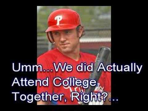 Jen Utley Gets Chase Utley's UCLA College Major Wrong Video