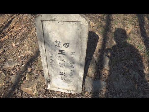 Незаконные захоронения в китайских лесах и оврагах