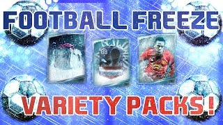 FOOTBALL FREEZE PROMO VARIETY PACKS + 88 COLD-FOOTED OPENING ! | FIFA MOBILE 17
